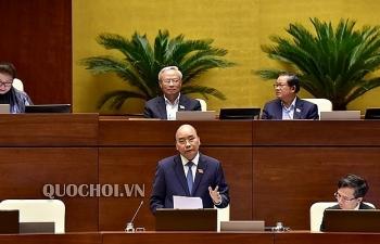 Đại biểu Quốc hội chất vấn quan điểm của Thủ tướng trước vụ việc nước sông Đà nhiễm bẩn