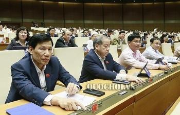 Quốc hội biểu quyết thông qua 3 dự án Luật quan trọng