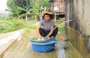 Chỉ còn 60% công trình cấp nước sạch nông thôn hoạt động