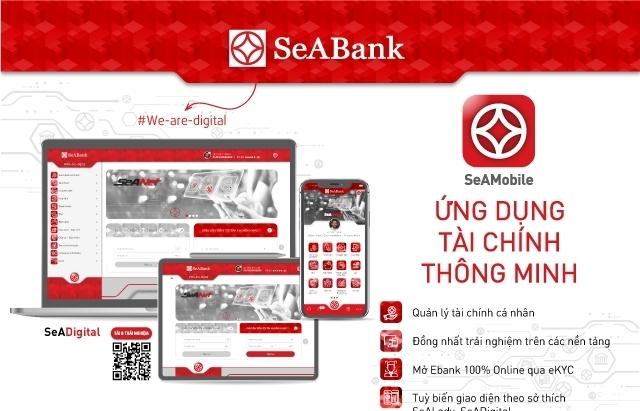 SeABank đồng nhất trải nghiệm của ngân hàng số SeAMobile trên tất cả các thiết bị