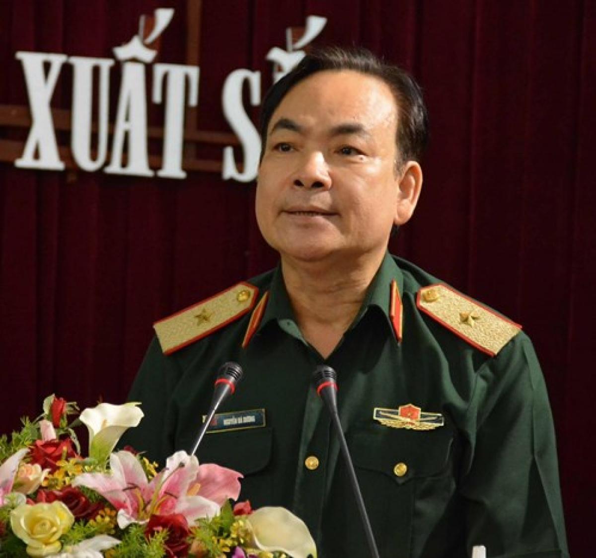 Thiếu tướng Nguyễn Bá Dương