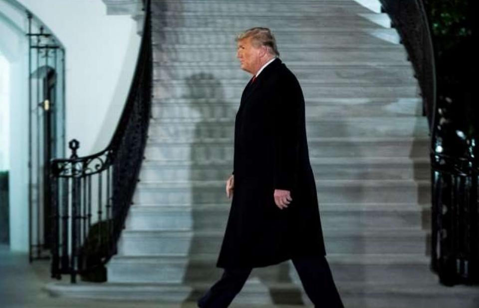 """""""Cái kết buồn"""" cho Trump trong những ngày cuối ở Nhà Trắng"""