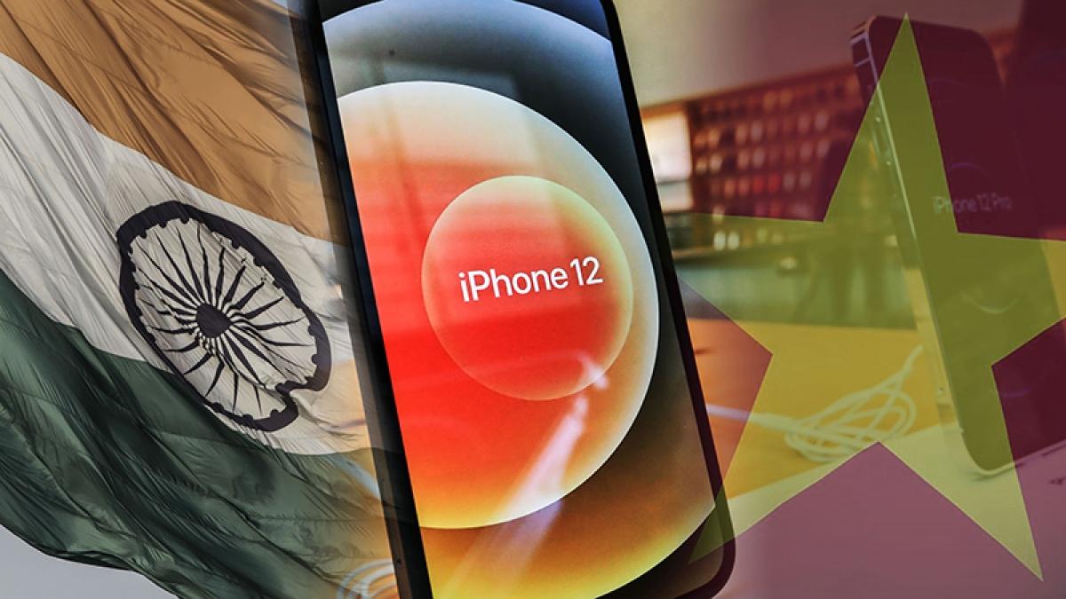 Apple đẩy nhanh việc sản xuất iPad và iPhone từ Trung Quốc sang Việt Nam và Ấn Độ