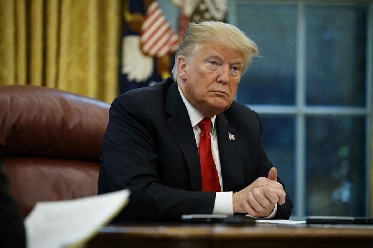 Cựu Tổng thống Mỹ Donald Trump. Ảnh: AP