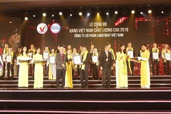 Vedan Việt Nam tiếp tục vinh danh Hàng Việt Nam chất lượng cao năm 2019