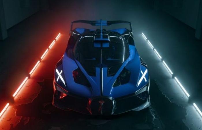 Bugatti Bolide được bình chọn là hypercar đẹp nhất năm 2021