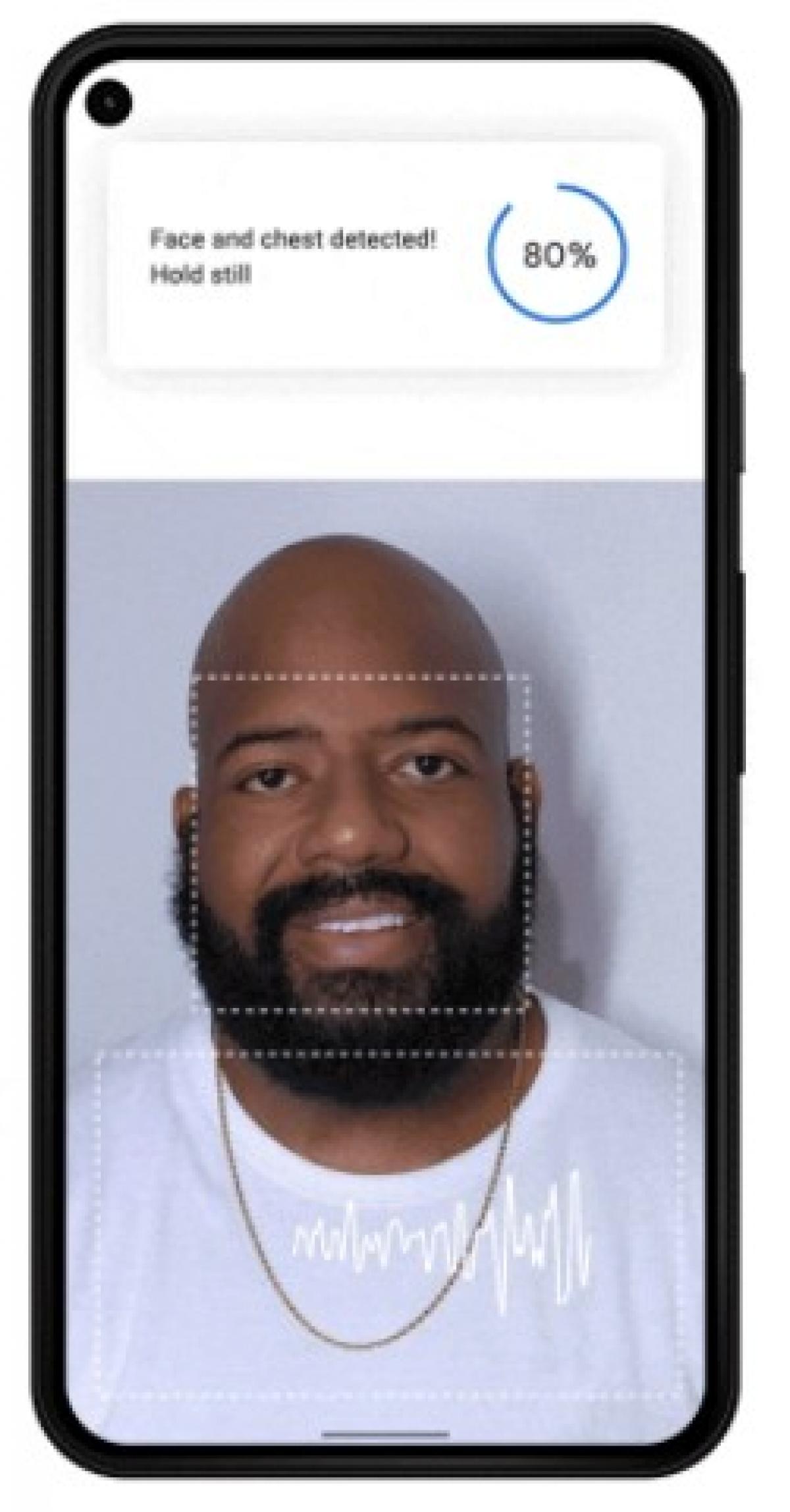 Công nghệ phát hiện nhịp thở và nhịp tim Google Fit được tích hợp trên điện thoại thông minh Pixel.