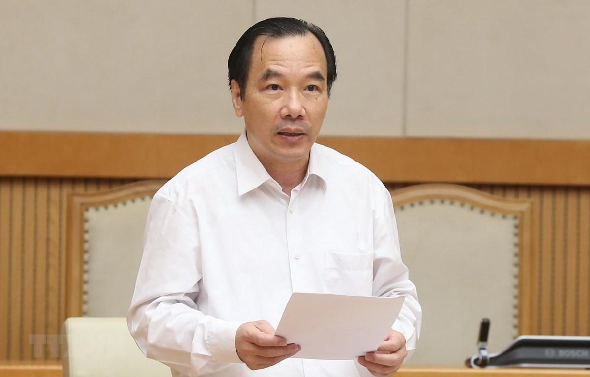 Phó Chủ tịch Ủy ban Trung ương Mặt trận Tổ quốc Việt Nam Ngô Sách Thực. (Ảnh: Doãn Tấn/TTXVN)