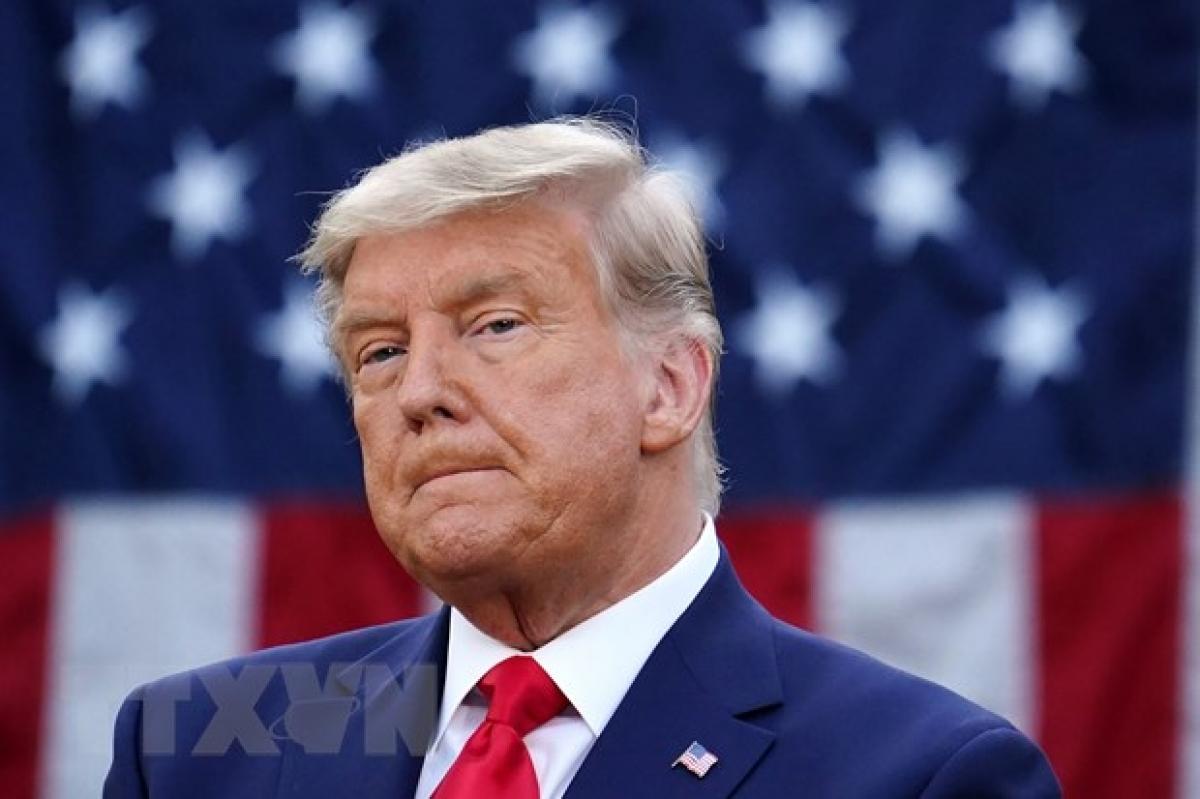 Cựu Tổng thống Mỹ Donald Trump. (Ảnh: AFP/TTXVN)