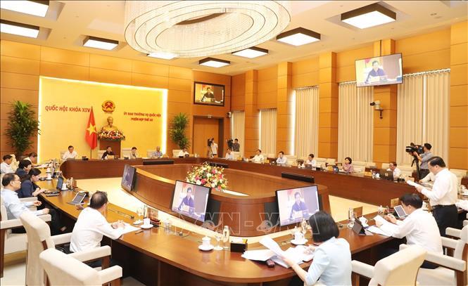 Phiên họp thứ 54 của Ủy ban Thường vụ Quốc hội sẽ cho ý kiến về công tác nhân sự