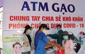 Vedan chung tay nhân rộng mô hình ATM gạo hỗ trợ người dân
