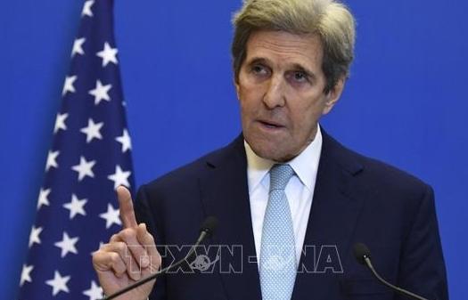 Đặc phái viên Mỹ John Kerry lên kế hoạch công du UAE, Ấn Độ