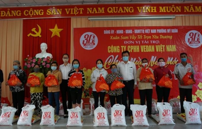 Vedan Việt Nam trao tặng 1.000 phần quà cho người dân tỉnh Đồng Nai