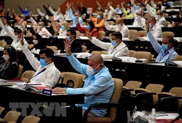 Cuba: Cac dai bieu bau chon ban chap hanh trung uong moi hinh anh 1