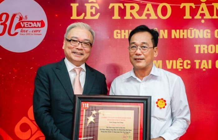 Vedan Việt Nam tôn vinh người lao động