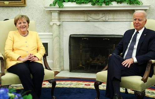 Thủ tướng Đức Merkel thực hiện chuyến thăm Mỹ cuối cùng của nhiệm kỳ