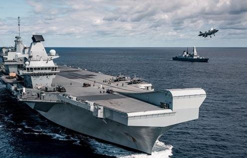 Hải quân Anh và Ấn Độ tập trận hàng hải chung tại Vịnh Bengal
