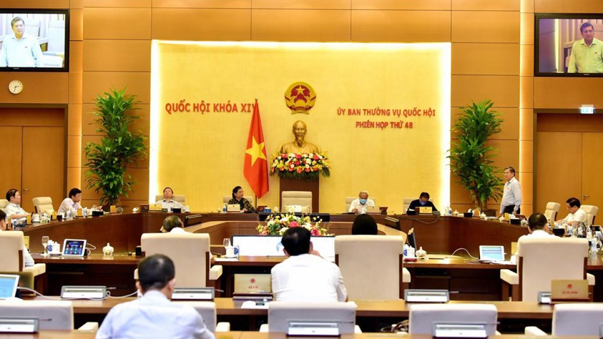 Phiên họp thứ 48 của Uỷ ban Thường vụ Quốc hội