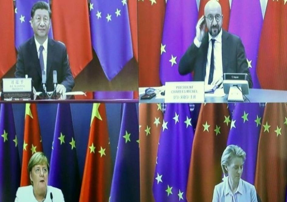 Thượng đỉnh EU- Trung Quốc lại kết thúc trong bất đồng