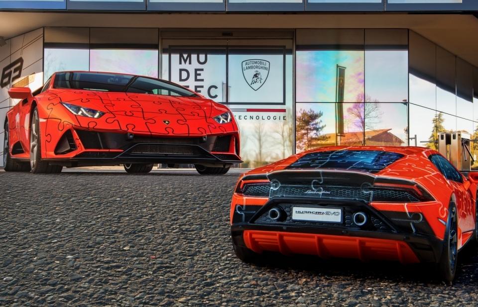 Lamborghini ra mắt bản xếp hình 3D Huracan EVO với giá gần 1 triệu đồng