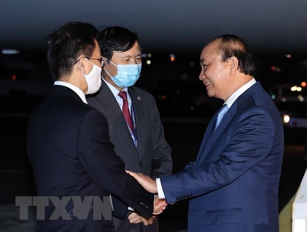 Chu tich nuoc Nguyen Xuan Phuc tiep ban be canh ta Hoa Ky hinh anh 1