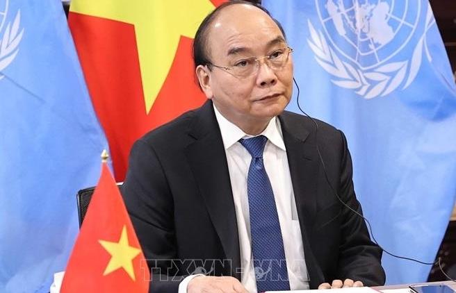 Chủ tịch nước tham dự và phát biểu tại Hội nghị thượng đỉnh về chấm dứt đại dịch