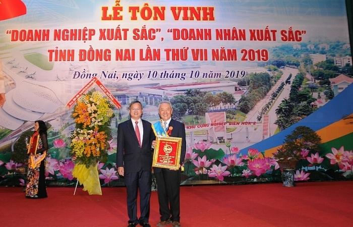 vedan viet nam duoc vinh danh doanh nghiep xuat sac tinh dong nai nam 2019