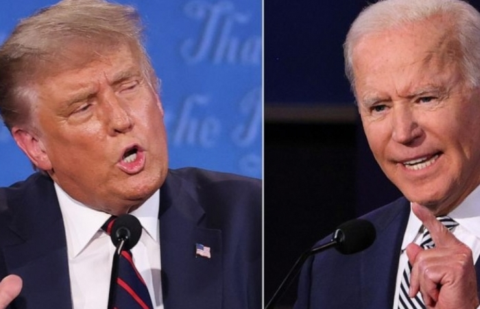 Ứng viên Biden giành lợi thế dù bị ông Trump tấn công dồn dập trong tranh luận bầu cử