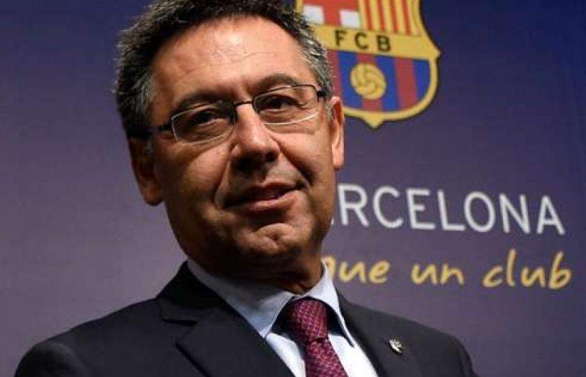 Chủ tịch Bartomeu của Barca từ chức