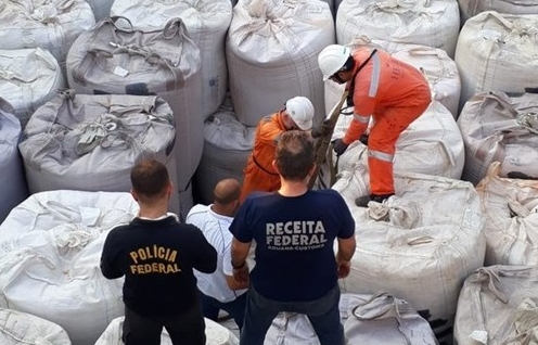 Brazil thu giữ khối lượng ma túy lớn tại cảng Rio de Janeiro