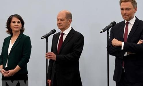 Đức: FDP nhất trí thành lập liên minh cầm quyền với SPD và đảng Xanh