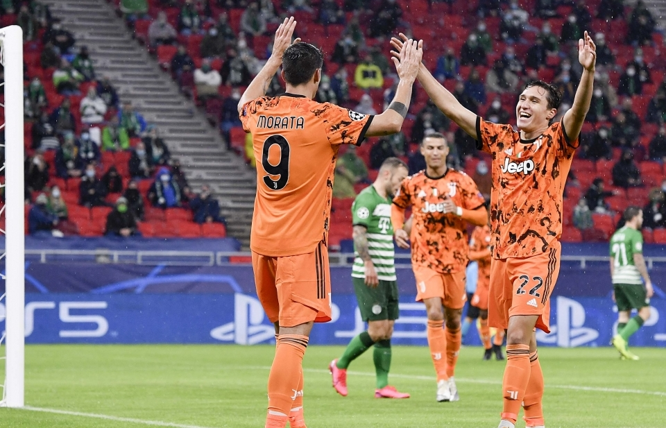 Cristiano Ronaldo vô duyên kỳ lạ, Juventus vẫn thắng đậm Ferencvaros