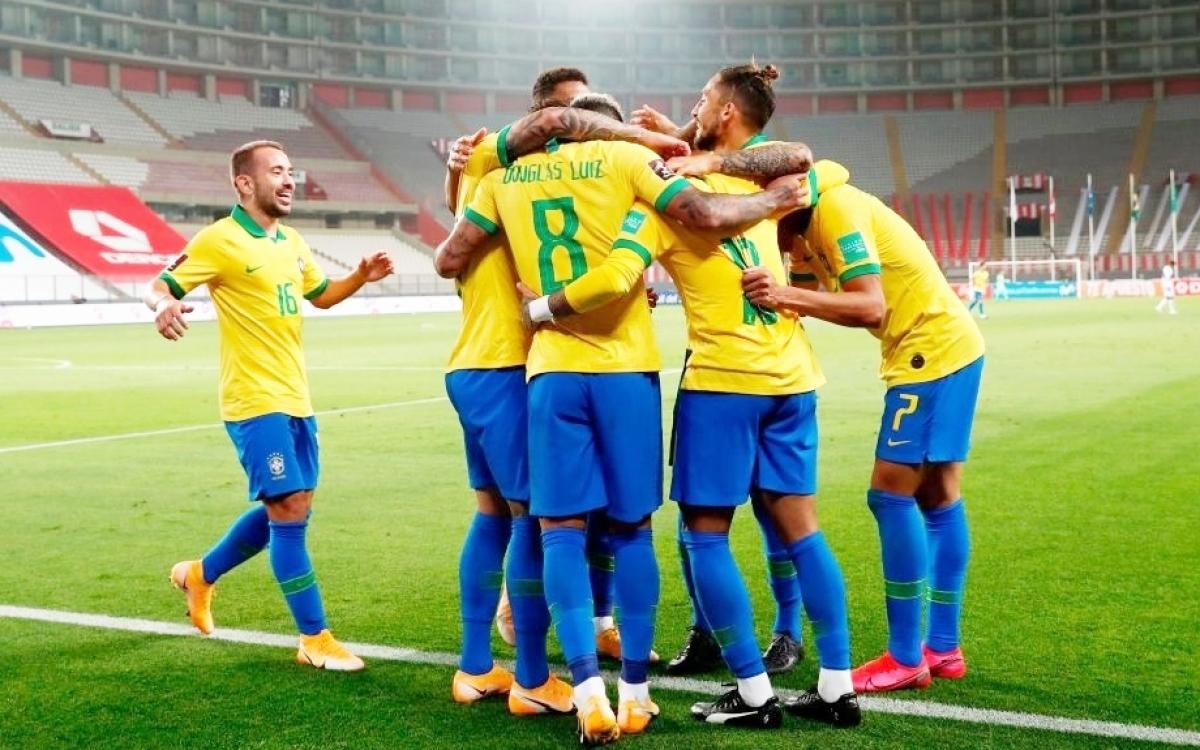 Brazil dẫn đầu bảng xếp hạng sau 2 lượt trận (Ảnh: Getty).