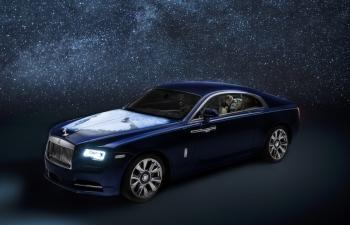 Cận cảnh Rolls-Royce Wraith cá nhân hóa lấy cảm hứng từ trái đất