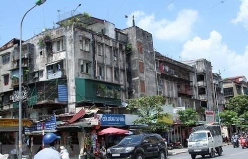 Hàng loạt bất cập 'trói chân' việc cải tạo chung cư cũ