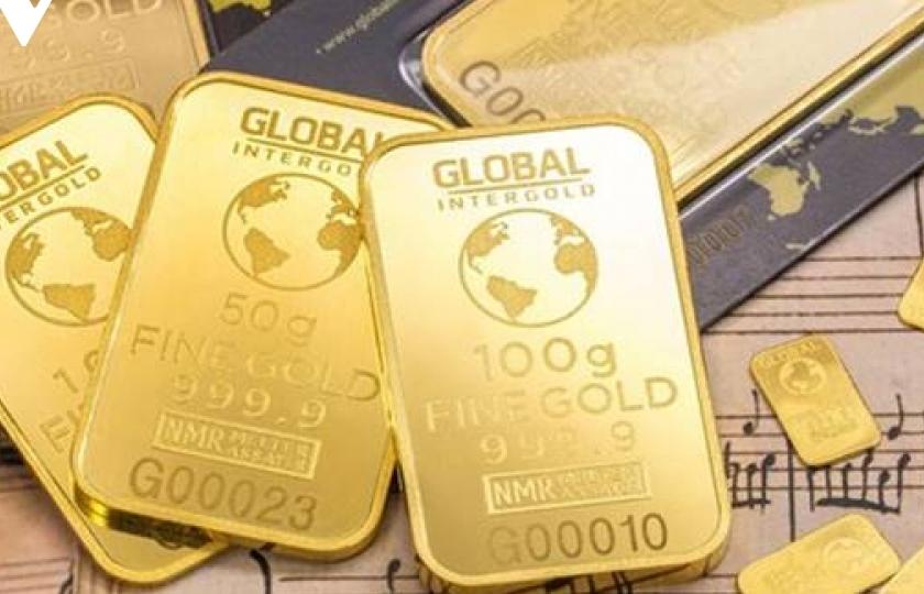 Dự báo, giá vàng năm 2021 sẽ ở mức 2.300 USD/ounce