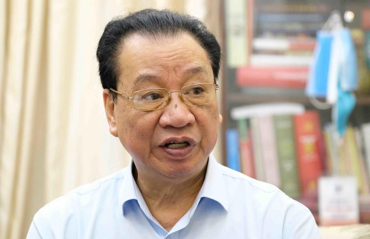 GS.TS Phùng Hữu Phú. Ảnh: H.T