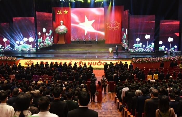 Chính thức khai mạc Đại hội Thi đua yêu nước toàn quốc lần thứ X