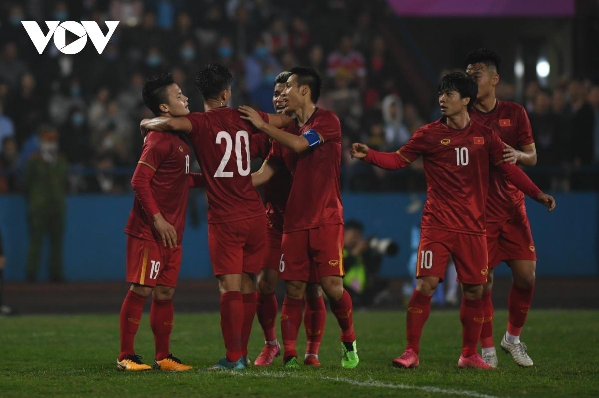 Dù chỉ chơi 45 phút nhưng Quang Hải đã có trận đấu xuất sắc. (Ảnh: Dương Thuật).