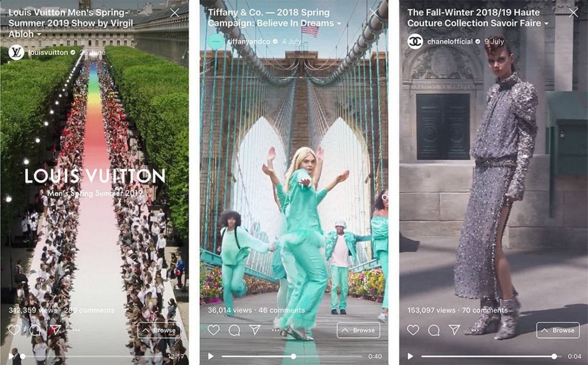 Xu hướng số hoá ngành thời trang lên ngôi mùa dịch.