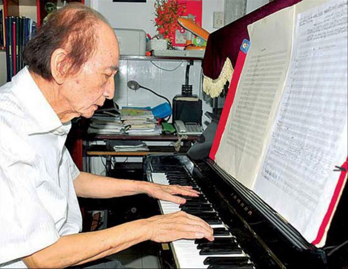 Nhạc sĩ Nguyễn Văn Nam.